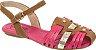 Sandália infantil Klin Anne Kids Caramelo Pink - Imagem 1