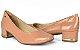 Sapato Feminino Dakota Salto Grosso Preto & Rose G1081 - Imagem 4