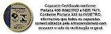CAPACETE FECHADO MODELO IMPULSE X11 BRANCO / CINZA - Imagem 6