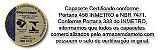 CAPACETE ICON FAST PRETO E BRANCO FOSCO - Imagem 5