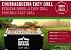 Churrasqueira Portátil Easy Grill Bom de Brasa Inox - Imagem 2