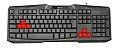 Teclado TRUST Ziva Gaming Keyboard  - Imagem 1