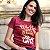Camiseta feminina Who Run the World? bordô - Imagem 3