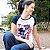 Camiseta feminina raglan marinho True Love - Imagem 3