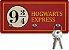Porta Chaves Ecológico - Hogwarts Express - 3 Pontos - Imagem 1