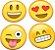 Porta Copos Emoticons - Emojis - Imagem 1