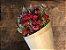 Bouquet de Flores Variadas Secas Vermelhas - Imagem 2
