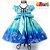 Vestido Infantil de Festa Frozen - Imagem 2
