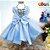 Vestido Infantil Tema Frozen - Imagem 2