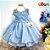Vestido Infantil Tema Frozen - Imagem 1