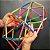 Quebra-cabeça Edulig Puzzle 3D Bola 10 - 90  peças e conexões - 6 cores - Edulig - Imagem 6