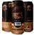 Cerveja Quatro Graus Black Anthrax 2021 Brazilian Extreme Stout C/ Café, Baunilha e Carvalho Lata - 473ml - Imagem 1