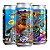 Cerveja Overall Synesthesia Manga e Maracujá Imperial Sour C/ Manga, Maracujá e Lactose Lata - 473ml - Imagem 1