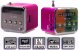 Mini Caixa De Som Led 6w Rádio Fm - Imagem 3