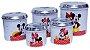 Lata de Mantimento Mickey e Minnie - Imagem 1