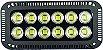 Refletor de LED 600W 6500K Branco Frio Bivolt 1 ano de garantia - Imagem 1