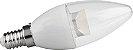 Lampada VELA TRANSPARENTE 5W 400LM Branco Quente - Imagem 1