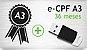 E- CPF A3 - TOKEN - CERTIFICADO 36 MESES - Imagem 1