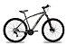Bicicleta 29 Heal S1 - Shimano Altus Tras 24v (K7) Cassete Freio Hidraulico - Imagem 8