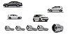 Jogo DE Parafusos Antifurto 14X1,5 VW  Jetta, Golf, Polo, Fox, Amarok, Touareg  - Imagem 1