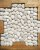 Seixo Telado Areia (m²) - Imagem 1
