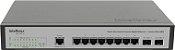Switch Desktop Gerenc 8 P Giga Ethernet e 2 P Mini GBIC SG 1002MR - Intelbras - Imagem 3