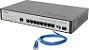 Switch Desktop Gerenc 8 P Giga Ethernet e 2 P Mini GBIC SG 1002MR - Intelbras - Imagem 4