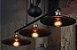 Pendente Industrial Preto 4106 Mart 3 Lampadas - Imagem 4