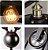 Pendente Industrial Preto 4106 Mart 3 Lampadas - Imagem 2