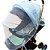 Mosquiteiro para carrinho, bebê conforto dobrável - Imagem 1