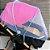 Mosquiteiro para carrinho, bebê conforto dobrável - Imagem 4