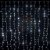 Cortina de LED 3x2m com 300 Leds Branca Fria 110v - Imagem 1
