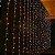 Cortina de LED 3x2m com 300 Leds Branca Quente 220v - Imagem 1