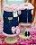 Colete Marinho com Laços Rosa - Imagem 1