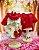 Moletom Vermelho Ursinho - Imagem 1