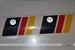 Adesivo VW Bandeira Alemanha (par) (2unidades) - Imagem 2