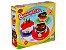 Massa de Modelar Bolo de aniversario Brinquedo criativo 9 pçs - Imagem 1