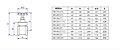Deca Registro Gaveta Bruto 1510Hd Predial Dn 1.1/4 - Imagem 2