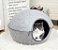 Cama Casulo Feltro para Gatos - Imagem 1