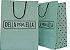 Sacola Personalizada - Papel Triplex 230 grs - 2x0 cores - alça cordão nylon preto - ilhós preto - Imagem 1