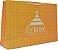 Sacola Personalizada - Papel Duplex 210 grs - 2x0 cores - alça cordão nylon branca - ilhós branco - Imagem 1