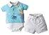 Conjunto Body/Camisa Polo com Bermuda Diversas Cores - Upi Uli - Imagem 1