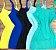 Vestidinho Curto De Alcinha Malha Canelado Atacado - Imagem 17