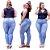 Calça Jeans Feminina Plusize Skinny Delave - Imagem 1