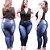 Calças Jeans Femininas Plus No Atacado Pacote C/ 10 Peças  - Imagem 3
