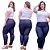 Calças Jeans Femininas Plus No Atacado Pacote C/ 10 Peças  - Imagem 4