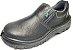 Sapato de Segurança de Couro e Elástico com Biqueira de Aço - Imagem 1