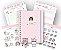 Mega Kit Coleção Louca por Papelaria - Rosa - Imagem 1