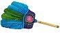 Abanilho Xamânico Azul e Verde - Imagem 1