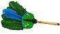 Abanilho Xamânico Verde Com Azul - Imagem 1